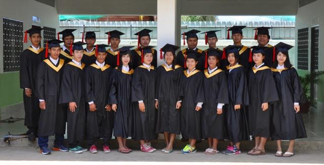 Graduates of Salaa Hope Christian School